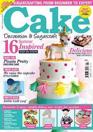 line Store June 2017 Back Issues Cake Decoration