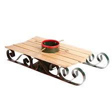 christmas tree holder sled christmas tree stand holder by nantucket home