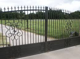 automatic driveway gates gallery aaron ornamental iron works