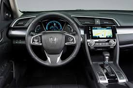 inside of a honda civic 2016 honda civic overview cars com