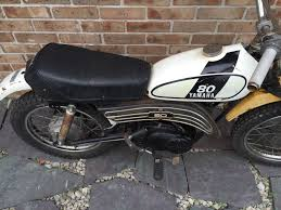 Led Light Bar For Dirt Bike by Vintage 1974 Yamaha Gt 80 Mx Mini Dirt Bike For Parts Restoration