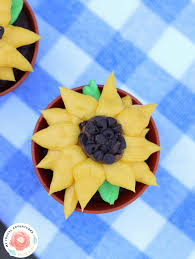 sunflower cupcakes my frugal adventures