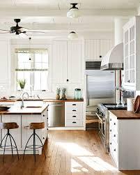 download white kitchen with wood home intercine