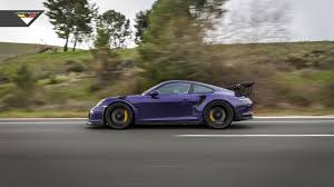 porsche gt3 rs yellow purple beast vorsteiner goes to town on porsche 911 gt3 rs