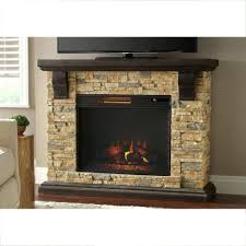 tv stand faux stone mantel electric fireplace in tan splendid