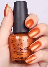 opi nail polish orange ebay