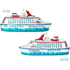 cruise themed ornaments personalized ornaments for you