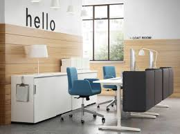 Ikea Office Swivel Chair For Spf A Reception With White Desks Storage Cabinets And Swivel