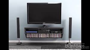 wall mounted av cabinet how to install the prepac 9 designer collection black 58 wall