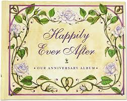 our wedding photo album happily after our wedding anniversary album wedding album