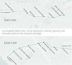 Gold Line Metro Map by How Uber Works Together With Southern California U0027s Growing Rail