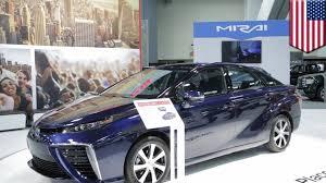 hydrogen fuel cell car toyota renewable energy for cars toyota mirai hydrogen fuel cell car