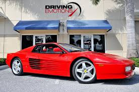 ferrari dealership showroom 1992 ferrari 512 tr testarossa 512 tr stock 5855 for sale near