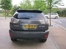 2006 lexus rx400h gas mileage 56 reg 2006 lexus rx 400h 4x4 awd automatic hybrid 1 owner 12
