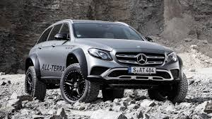 mercedes class mercedes e class all terrain 4x4 2 is a dystopian wagon tank