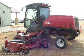 toro groundsmaster 5910 lawn mower item da7507 sold feb