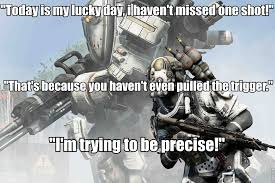Titanfall Meme - grunts be like i am sneaky you re hiding in a cardboard box
