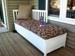 front porch bench ideas white wooden corner front porch bench with storage underneath plus