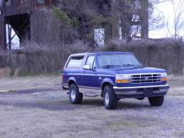 blue bronco car 1996 king ranch ford bronco 2 owner pirate4x4 com 4x4 and off