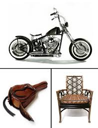 motorcycle accessories rockstar lifestyle lost art motorcycles furniture leather