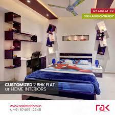 Home Interior Design For 2bhk Flat Rak Interiors Home Facebook