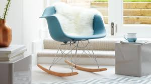 Eames Style Chair by Eames Style Rocking Occasional Arm Chair Youtube