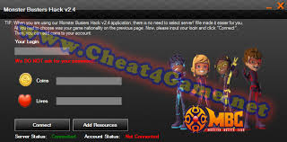 monster buster hack v2 4 cheat4game