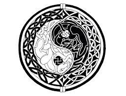 celtic yin yang designs infinity and yin yang celtic