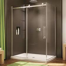 Fleurco Shower Door Fleurco Shower Door Novara 60 Sliding Canaroma Bath Tile