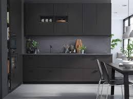 modern grey kitchen cabinets ikea kungsbacka kitchen fronts ikea