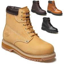 womens steel toe boots size 12 mens dickies cleveland ankle safety work boots shoes steel toe cap