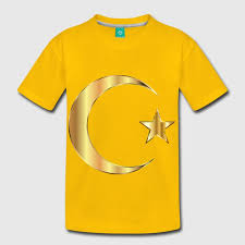 golden crescent moon and without background t shirt spreadshirt