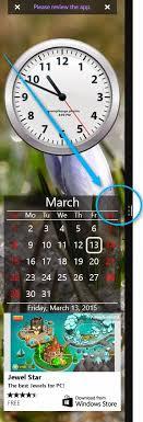 mettre une horloge sur le bureau infos technos informatique vidéos hifi photos afficher la