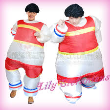 sport athlete inflatable jumpsuit blow up walking costume