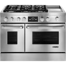 luxury ranges high end designer ranges jenn air jenn air pro style dual fuel range with griddle and multimode