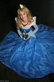 aurora blue dress cosplay by ayral on deviantart