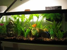 Buddha Fish Tank Decorations