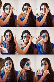 best 25 skull makeup tutorial half ideas on pinterest half