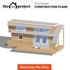 project house tiny house on wheels floor plans sketchup file