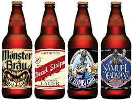 halloween wine labels amazon com halloween beer bottle stickers 12 count arts