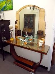 art deco hall table tables side antique furniture south