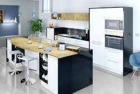ilots central pour cuisine meuble cuisine ilot cuisine avec ilot central avec table desserte