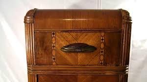 Art Deco Bedroom Furniture Antique 1930 U0027s Art Deco Whn Washed Stable Furniture Co Brown