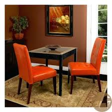 terrific burnt orange leather dining chairs 73 for your home