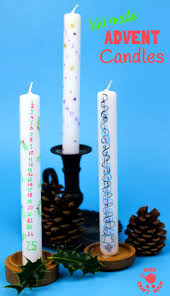 homemade advent candles simple christmas crafts simple