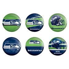 Seattle Seahawks Toaster Nfl Seattle Seahawks 6pk Buttons Shopko