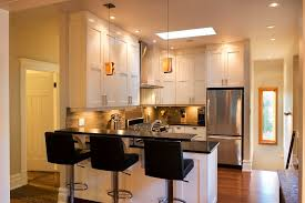 kitchen island with refrigerator extraordinary building kitchen island with raised bar and kitchenaid