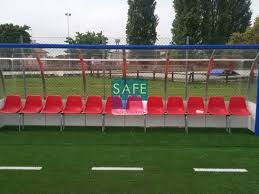 panchina di calcio protezioni in gomma antitrauma per panchina su co calcio