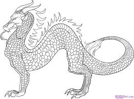 44 dragon images chinese dragon coloring