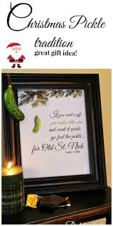 what is a pickle ornament pickle pickling